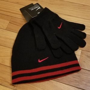 ❗Nike Hat and Glove Set❗